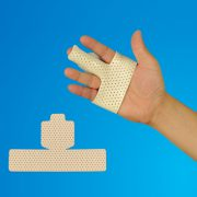 Thermoplastic Finger-Splint Low Temperature Materials Orthopedic Precut Splint