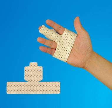 手指固定板