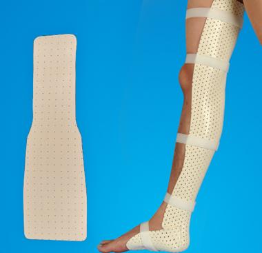 膝踝关节固定板