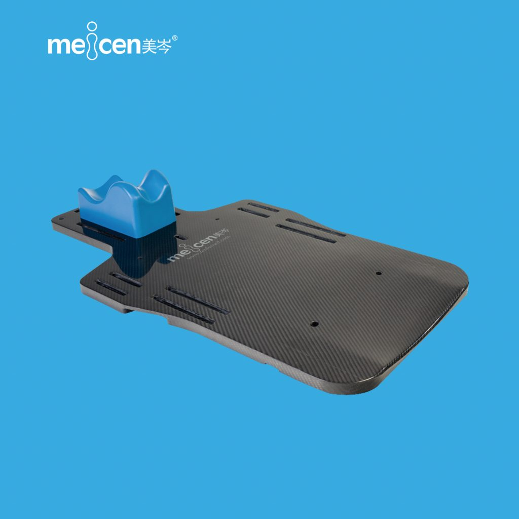 Meicen a-Series Head&Shoulder&Breast Baseplate Carbon Fiber Radiotherapy Baseplate