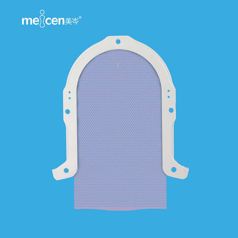 Meicen Violet S-Shaped Head Mask Lengthened 9cm S type  radiotherapy thermoplastic mask