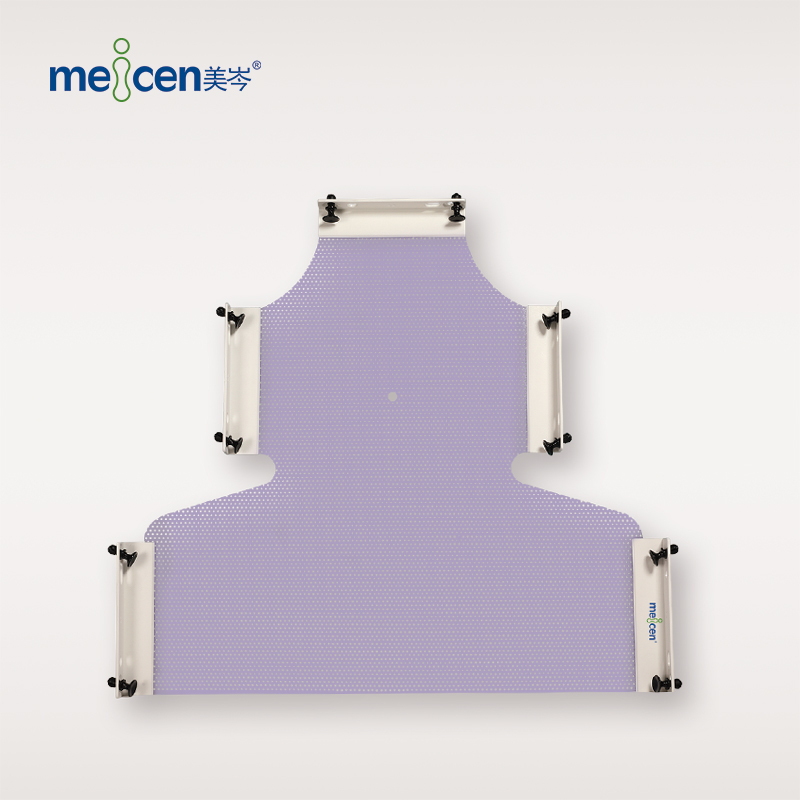 Meicen Violet E-Type 5-Point Head-Neck-Shoulder Mask with Quickfaster Radiotherapy Thermoplastic Mask