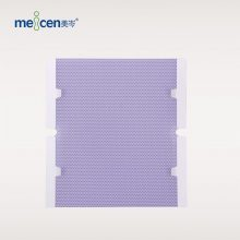 Meicen Violet Chest-Pelvis Mask 4 Point with Grip Radiotherapy Thermoplastic Mask