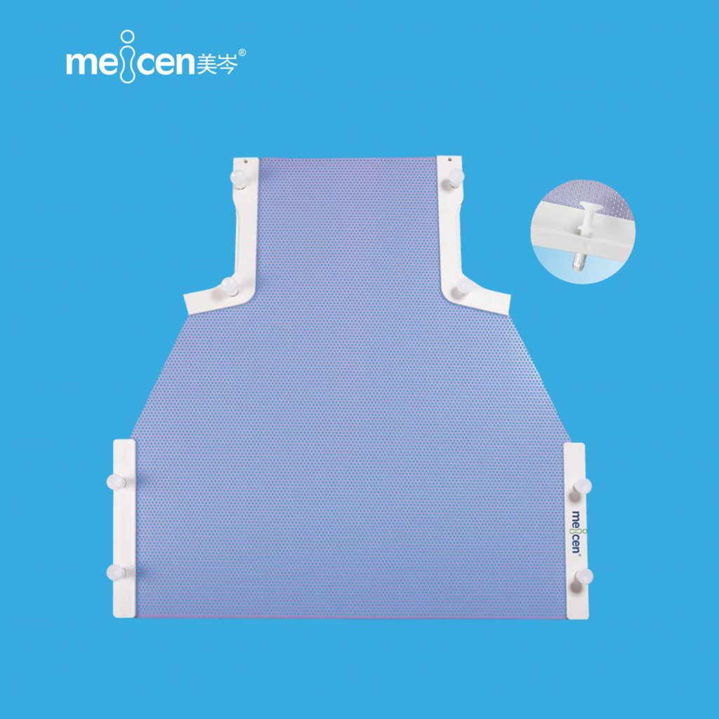Meicen Violet Head&Shoulder&Breast Mask Radiotherapy Thermoplastic Mask