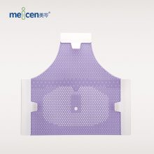 Meicen Violet Triangular Reinforced 3-Point Head Mask with Grip Radiotherapy Thermoplastic Mask