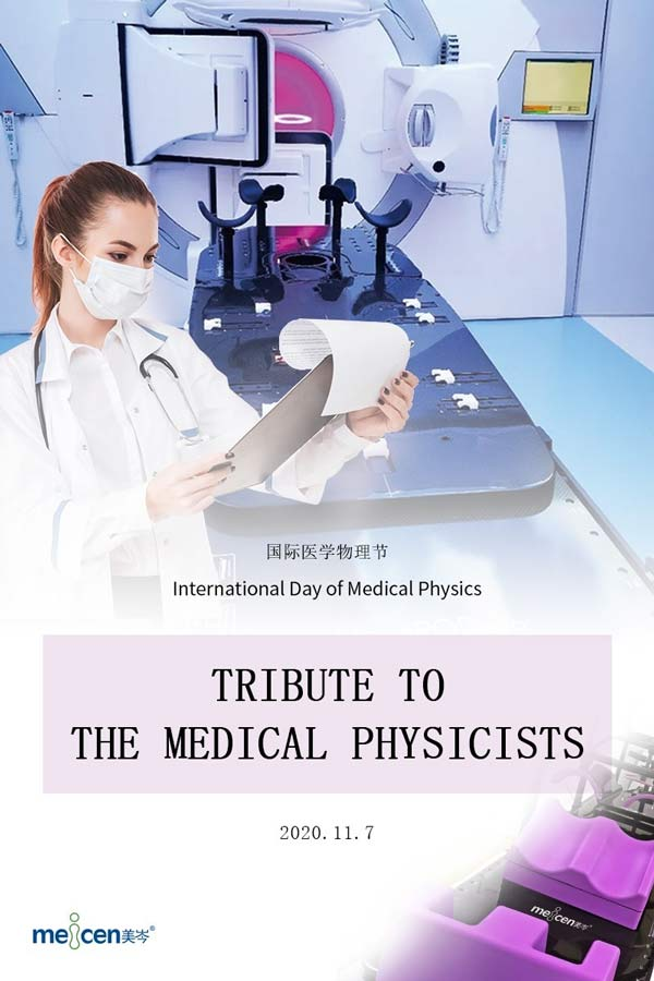 Tribute to the medical physicists