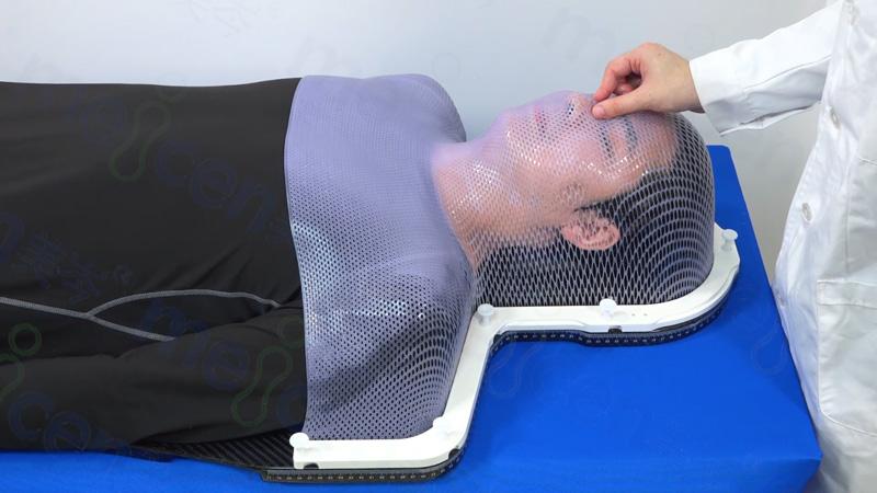 美岑S型头颈肩膜(常规款)使用操作演示及说明